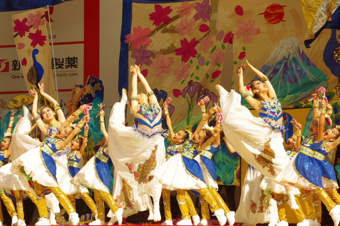 ふくこいアジア祭り2018.11.17 市役所ふれあい広場