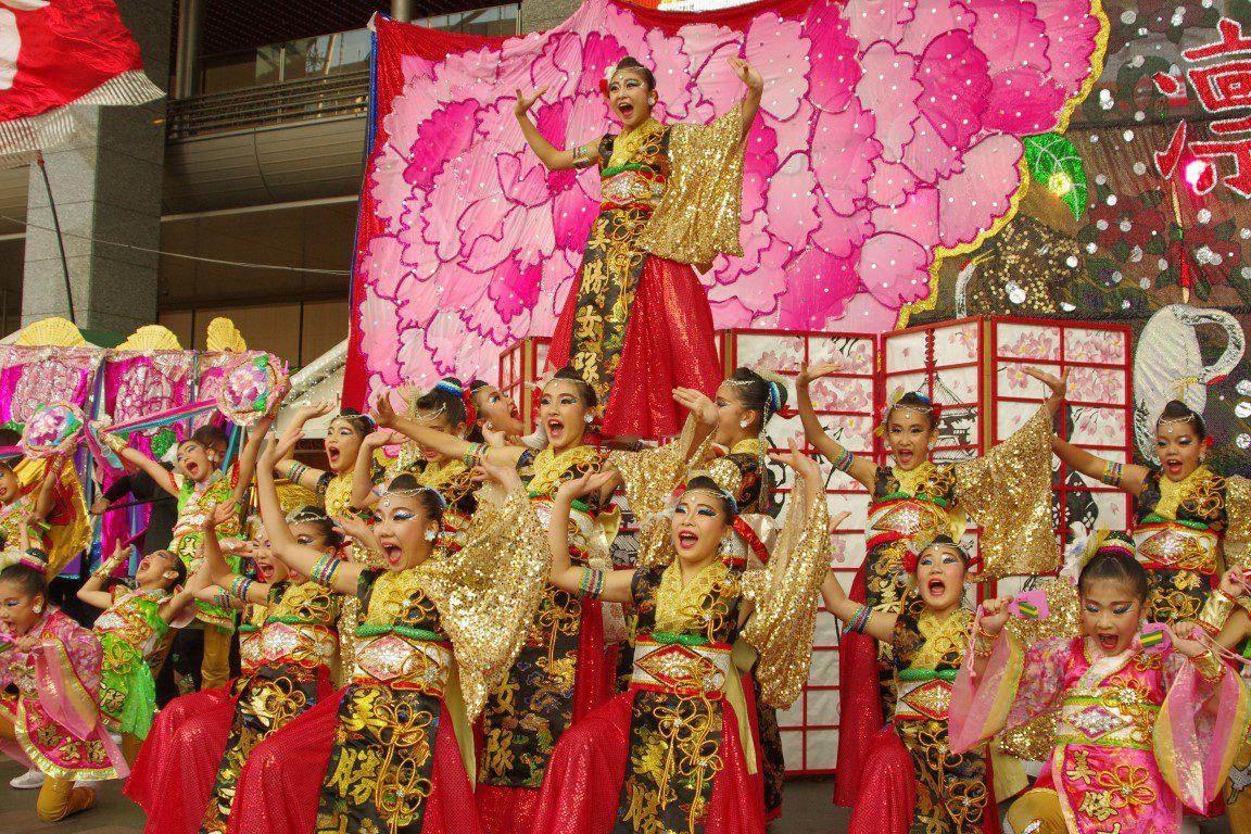 ふくこいアジア祭り2018.11.17 博多駅前広場